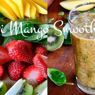 Kiwi Mango Smoothie.