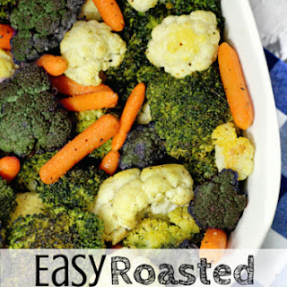 Easy Roasted Vegetable Medley.