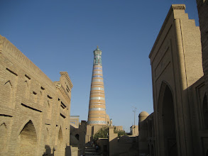 Photo: Khiva - Islam Khoja Minaret