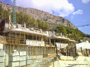 Photo: Perspectiva general de las obras.