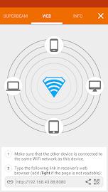 SuperBeam | WiFi Direct Share Screenshot 5