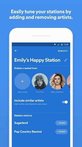 Spotify Stations screenshot 5