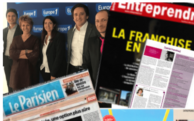Reconversion en franchise.com dans la presse