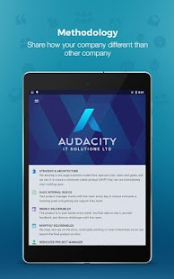 Audacity - Marketing App- screenshot thumbnail