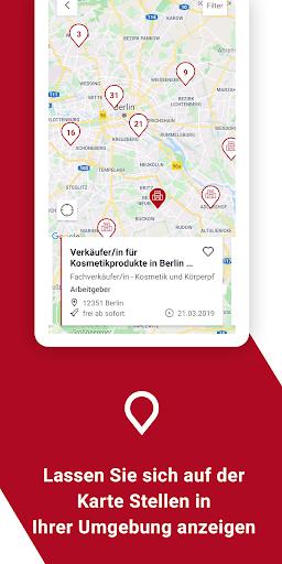 Jobsuche – die neue JOBBÖRSE 2.6.0 screenshots 4