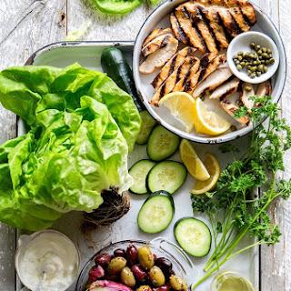 Mediterranean Lettuce Wrap