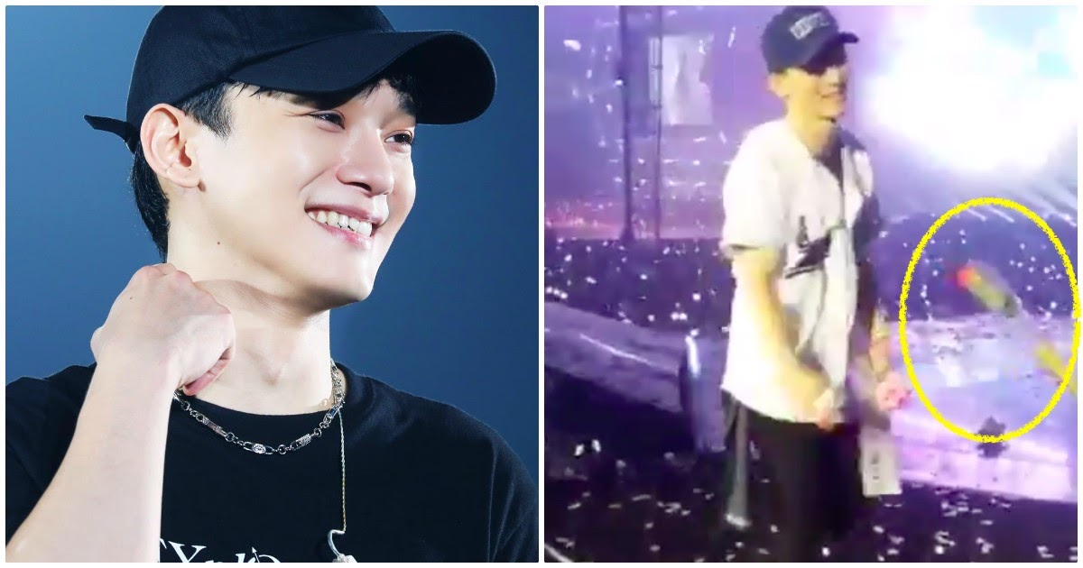 Exo Ls Rediscovered A Clip Of Chen Receiving A Rose From Fans And It S The Cutest Thing You Ll See Today Koreaboo