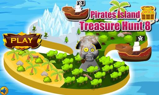 逃脫遊戲海盜島8