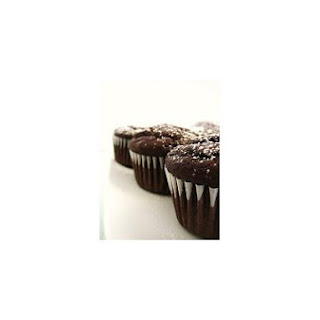 Healthy Chocolate Aztec Cupcakes.