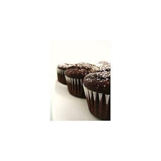 Healthy Chocolate Aztec Cupcakes.