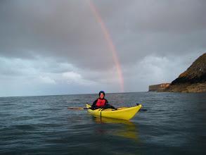 Photo: 11. Aileen under the rainbow