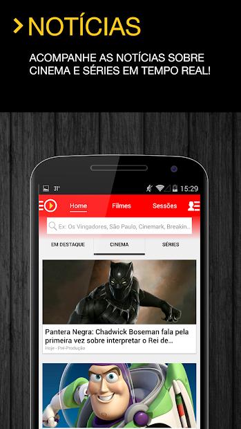 AdoroCinema Android App Screenshot