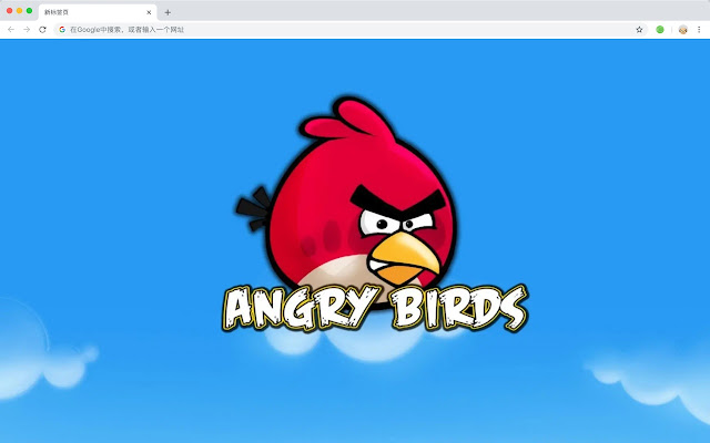 Angry Birds Popular Anime HD New Tabs Theme