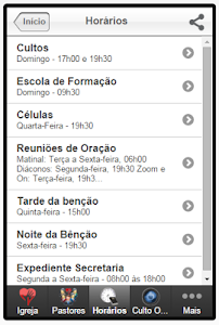 IEV - Igreja Evangélica Vida screenshot 4