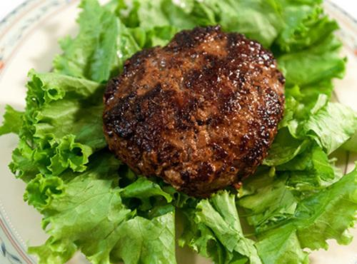 Fireman Bob's Fire House Burger # 1  Big Blue  Recipe