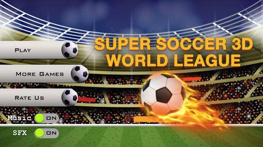 Super Soccer 3D World League 1.0 screenshots 1