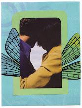 Photo: Wenchkin's Mail Art 366 - Day 177, card 177a