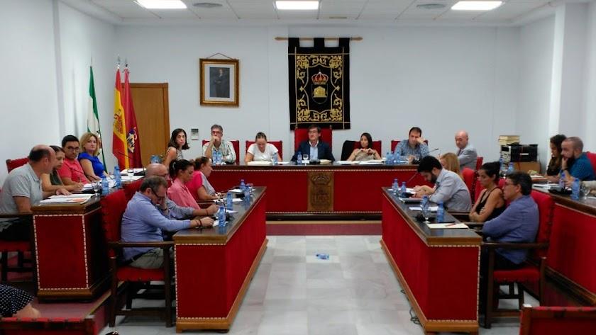 Pleno celebrado en el Ayuntamiento de El Ejido.