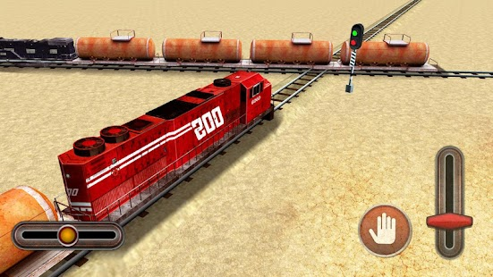 Oil Train Transporter: Impossible Train Driver 3D - náhled
