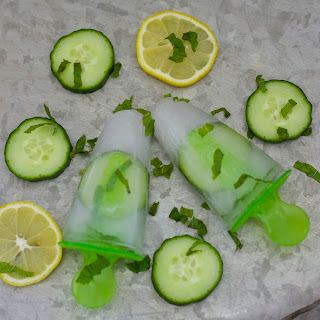 Cucumber Mint Spa Pops Recipe