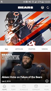 Chicago Bears Official App - náhled