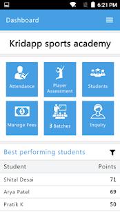 Kridapp Academy - náhled