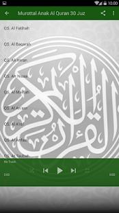 Murottal Anak Al Quran 30 Juz Screenshot