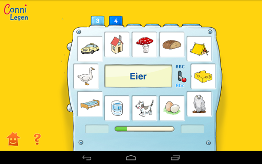Screenshot for Connie reading game 1st grade in Hong Kong Play Store