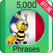 Learn French Phrasebook - 5000 Phrases
