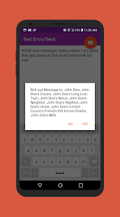 Multi-Text - SMS one message repeater - no groups - náhled