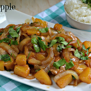 Pineapple Pork #SundaySupper