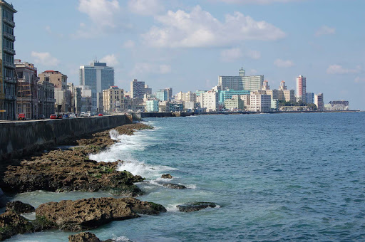 Cuba-Havana-From-the-Shore_01.jpg - Havana, the capital of Cuba, has more than 2.1 million inhabitants.