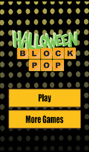 Halloween Block Pop- screenshot thumbnail