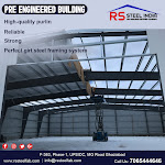 Latest Design Pre-engineered Building Manufacturer in India