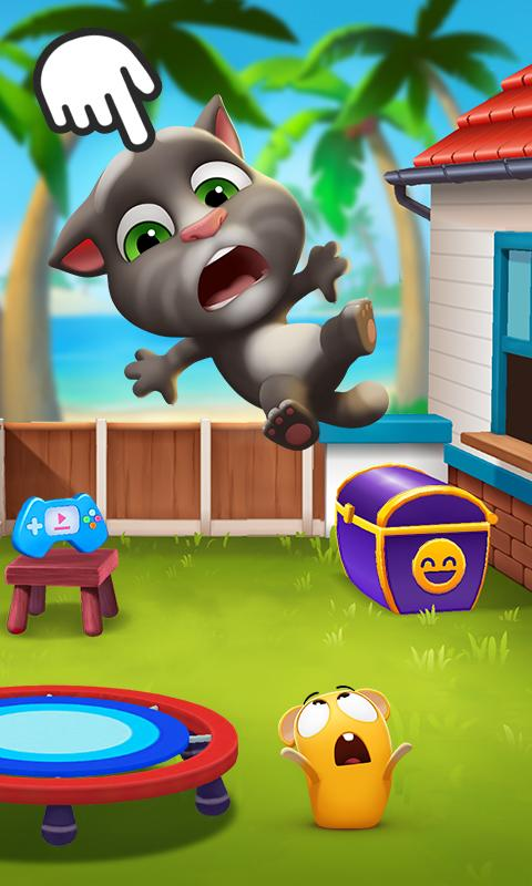 Screenshot 1 My Talking Tom 2 1.0.2001.25 APK MOD