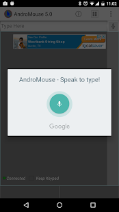 Remote Mouse and Keyboard- screenshot thumbnail
