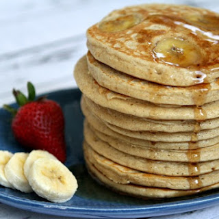 Oatmeal Banana Egg Pancakes Recipes.
