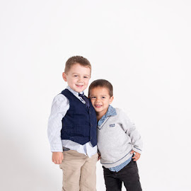 Best Friends & Brothers by Mel Stratton - Babies & Children Child Portraits ( brothers, children, boys, family, kids,  )