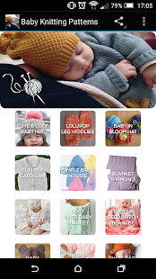 Baby Knitting Patterns- screenshot thumbnail