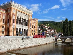 Photo: Szarajevó városháza, Szarajevó Régi városháza, Szarajevó, annexió, okkupáció, Osztrák-Magyar álmór stílus