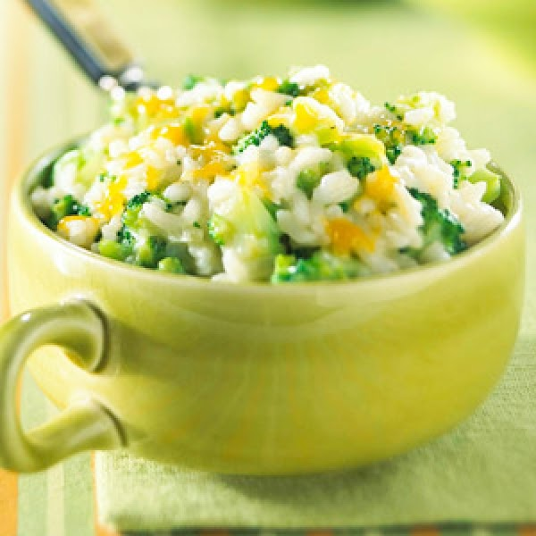 Broccoli And Rice With Cheese Recipe