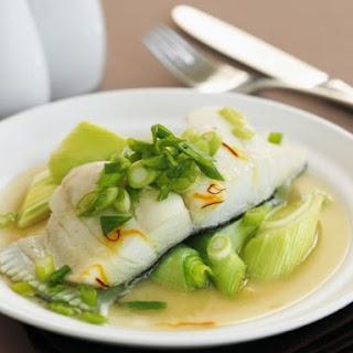 Healthy White Fish Dinner.