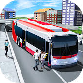City Tourist Bus Transporter Driving Simulator 3D