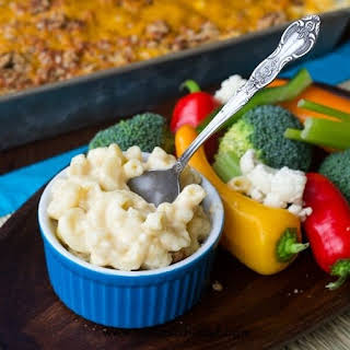 Rich and Creamy Macaroni and Cheese.