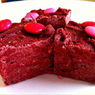 Easy Peasy Red Velvet Fudge