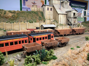 Photo: 025 More of the impressive stock and scenics on David Angell's 0n30 Texas, Santa Fe and Northern Railroad.
