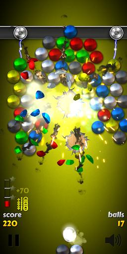 Magnet Balls Free: Match-Three Physics Puzzle 7.8.1.9 com.crazyowl.MagnetBallsFree apkmod.id 3