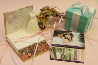 Photo: 精裝斜切便條紙-婚紗版