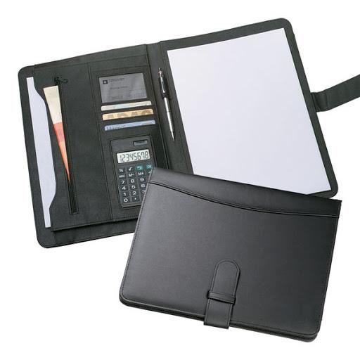 Calculator Conference Folder