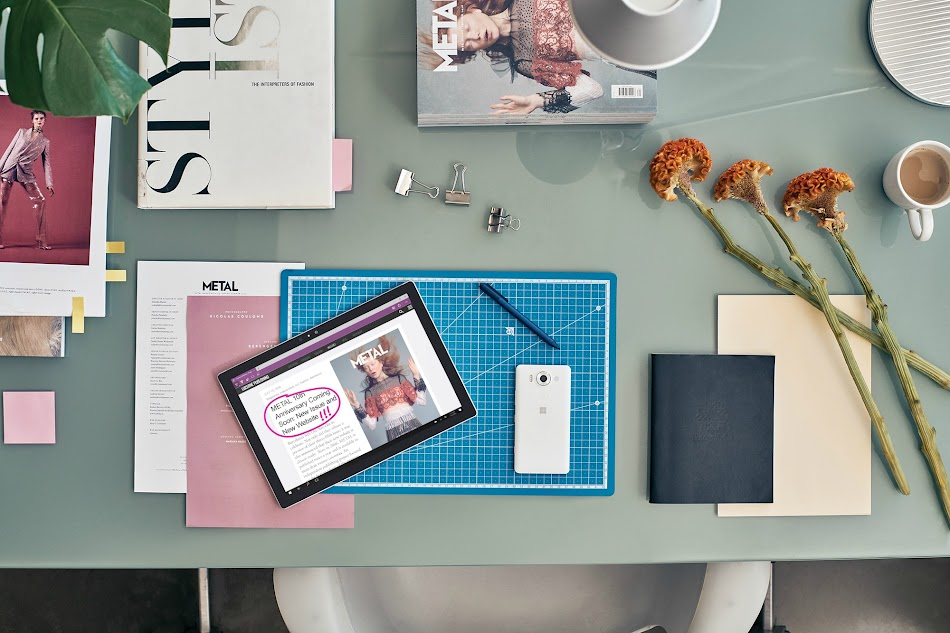 Holiday Tech for Teens - Microsoft Surface Pro has all it's bases covered - school and work, writing & listening to music, and inspiring artists